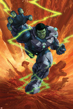 Indestructible Hulk 1 Cover Featuring Hulk Prints by Mukesh Singh