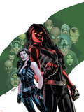 Red She-Hulk 58 Cover Featuring Red She-Hulk, Betty Ross Posters by Carlo Pagulayan