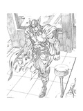 Avengers Assemble Pencils Featuring Thor Posters