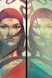 Elektra 1 Featuring Electra Affiches par Mike Del Mundo