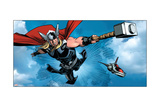 Avengers Assemble Panel Featuring Thor Posters