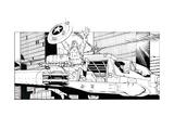 Avengers Assemble Artwork Featuring Captain America Prints