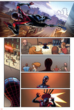 Cataclysm:Ultimate Spider-Man 1 Featuring Spider-Man Posters by David Marquez