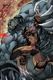 Savage Wolverine 7 Featuring Wolverine, Shikaru the Mute Poster von Joe Madureira