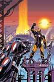 Iron Man 19 Cover Featuring Iron Man Photo by Paul Rivoche