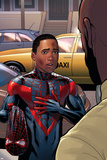 Cataclysm: Ultimate Spider-Man 2 Featuring Spider-Man, Miles Morales Prints by David Marquez