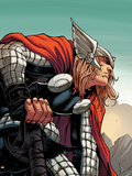 Avengers Assemble Panel Featuring Thor Prints