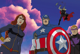 Avengers Assemble Animation Still Prints