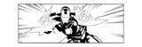 Avengers Assemble Artwork Featuring Iron Man Plakater