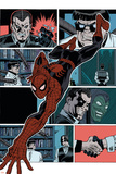 Superior Spider-Man Team-Up 11 Featuring Spider-Man, Green Goblin, Doctor Octopus, Norman Osborn Plastic Sign by Ron Frenz
