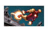 Avengers Assemble Panel Featuring Iron Man Photo