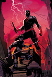 Daredevil 1 Cover Featuring Daredevil, Shadow Posters af Ron Garney