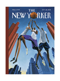 The New Yorker Cover - September 28, 2015 Regular Giclee Print by Mark Ulriksen