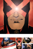Uncanny X-Men 3 Featuring Cyclops Plakater af Chris Bachalo
