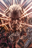 X-Men Legacy: 221 Cover Featuring Xavier, Charles, Colossus, Nightcrawler, Ms. Marvel Plastic Sign by Lee Bermejo