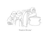 """Enough yin. More yang."" - New Yorker Cartoon Giclee Print by Gahan Wilson"