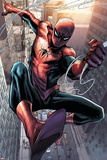 Superior Spider-Man Team-Up 12 Featuring Spider-Man Plastic Sign by Marco Checchetto