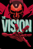 Vision 1 Cover Wall Decal by Marcos Martin