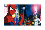 Ultimate Spider-Man Animation Still Photo
