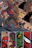 Superior Spider-Man 31 Featuring Spider-Man, Green Goblin Plastic Sign by Giuseppe Camuncoli