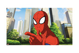 Ultimate Spider-Man Animation Still Poster