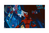 Ultimate Spider-Man Animation Still Prints