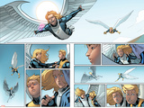 All-New X-Men 8 Featuring Angel Plastic Sign by David Marquez