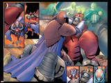 Ultimate X-Men 92 Featuring Apocalypse, Onslaught Plastic Sign by Salvador Larroca