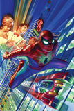 Amazing Spider-Man 1 Cover Plastic Sign by Alex Ross