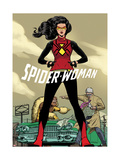 Spider-Woman 9 Featuring Spider Woman, Urich, Ben, Porcupine Posters by Javier Rodriguez