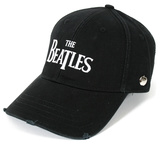 The Beatles- Drop T Logo Snapback Hat