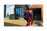 Ultimate Spider-Man Animation Still Prints