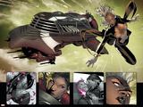 Uncanny X-Force 1 Featuring Storm, Psylocke Plastic Sign by Ron Garney