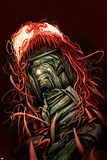 Carnage 1 Cover Featuring Entrance, Mine, Tracks Plastic Sign by Mike Del Mundo