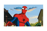 Ultimate Spider-Man Animation Still Posters