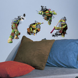 Teenage Mutant Ninja Turtles In Action Peel And Stick Giant Wall Decals Wall Decal