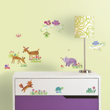 Woodland Baby Peel And Stick Wall Decals Wall Decal