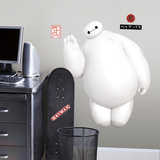 Big Hero 6 White Baymax Peel And Stick Giant Wall Decals Wall Decal