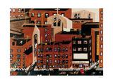 Harlem, 1942 Giclée-trykk av Jacob Lawrence