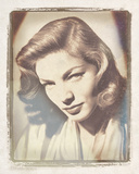 Movie Star II - Lauren Bacall Giclee Print by  The Vintage Collection