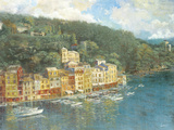 Portofino Giclee Print by  Longo