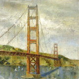 Golden Gate Giclee Print by  Longo