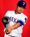 Texas Rangers Photo Day Photo by Jamie Squire