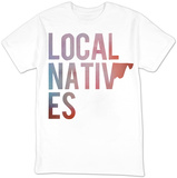 Local Natives- Logo (slim fit) T-shirts