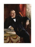 Grover Cleveland Premium Giclee Print by Anders Zorn