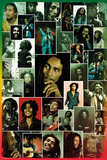 Bob Marley- Photo Collage Plakat