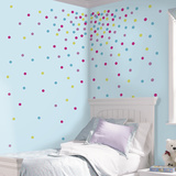 Multi Glitter Confetti Dots Peel And Stick Wall Decals Wall Decal