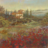 Provencal Village V Giclee Print by  Longo