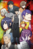 Tokyo Ghoul- Group Poster