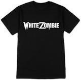White Zombie- White Logo Shirts